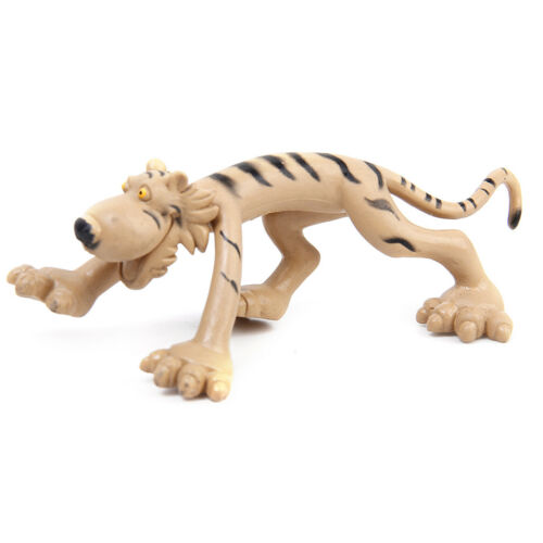6 Plastic Zoo Figure Jungle Wild Animals Childrens Toys Party Bag Favour Set