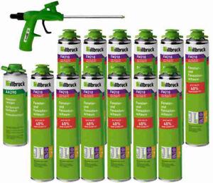 Set L illbruck 12x PU-Schaum+ FM210 880 ml, 1x Reiniger AA290 500 ml, 1x Pistole