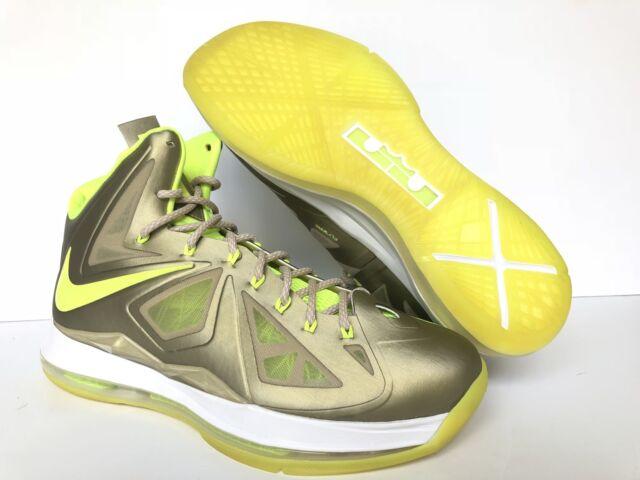 e093aacddbf Nike ID Lebron 10  diamond Collection  Gold neon Green 578346-994 US ...