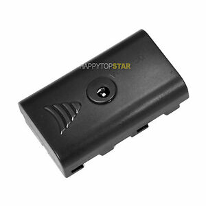 Battery Replacement Adapter Case For Sony Np F550 F970