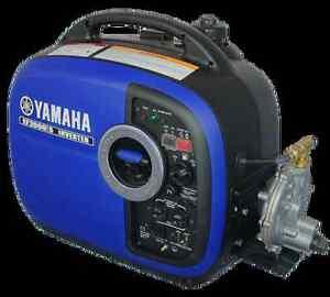 Yamaha ef2000isv2 tri fuel generator ebay for Yamaha 2000 generator run time