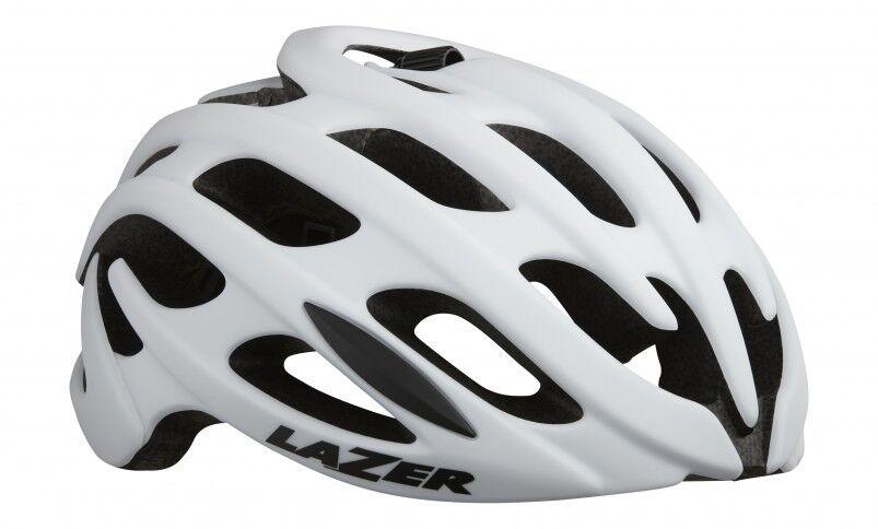 Nuevo Lazer Para hombre Hoja Plus + Casco para ciclismo-Tamaño Mediano-blancoo