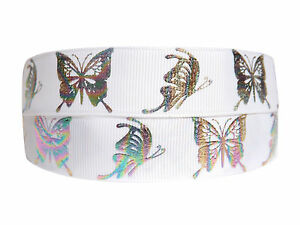 PRETTY MULTI COLOURED BUTTERFLY RIBBON 2M X 22mm For BIRTHDAY CAKES GIFT WRAP W1 - London, United Kingdom - Returns accepted Most purchases from business sellers are protected by the Consumer Contract Regulations 2013 which give you the right to cancel the purchase within 14 days after the day you receive the item. Find out more about y - London, United Kingdom