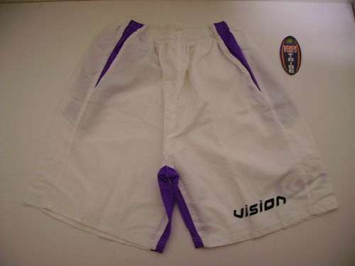 Vision Pantaloncino Shorts Beach Tennis men women Scout Bianco purple