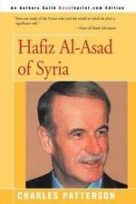 Hafiz Al-Asad of Syria Patterson, Charles Paperback