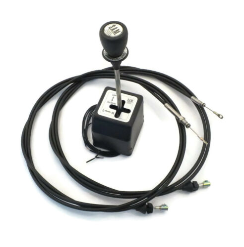 Snow Plow JOYSTICK CONTROLLER w// CABLES for Buyers SAM 1314000 Snowplow Blade