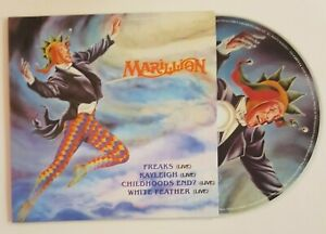 MARILLION-FREAKS-WHITE-FEATHER-4-x-LIVE-CD-Single-Replica-EP-12-034