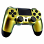 Indexbild 2 - PS4 Controller JDM-040 Case Cover Hülle Gehäuse Front Chamelon Gold Slim Pro