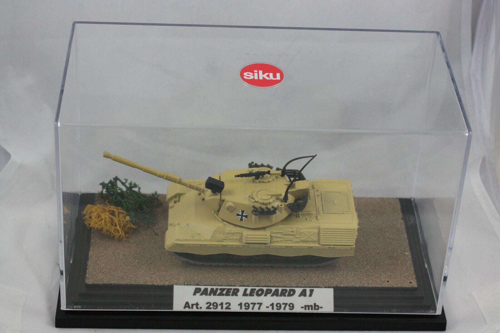 SIKU 2912 chars leopart a1 1977-1979, Near Comme neuf de  Collection  le dernier