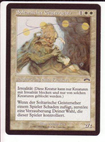 Exodus 4x Soltari Visionary Soltarischer Geisterseher Cleric shadow
