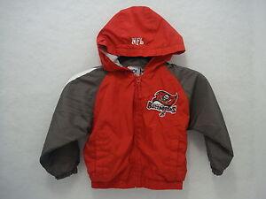 Tampa Bay Buccaneers NFL Gear 24 months Lined Windbreaker Jacket ... 6d8e9ec36