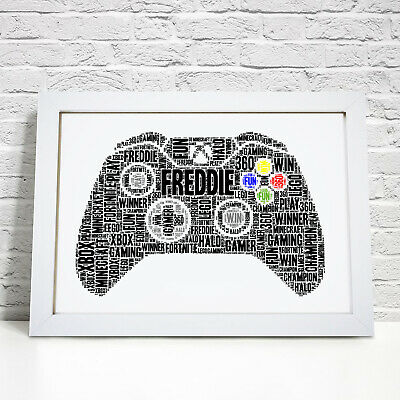Personalised Gamer Gaming Bedroom Gifts Christmas Birthday Gift For Son Brother Ebay