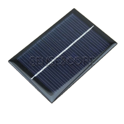 6V 100mA 0.6W Mini Epoxy Solar Panel Photovoltaic Polycrystalline Cell Charger S