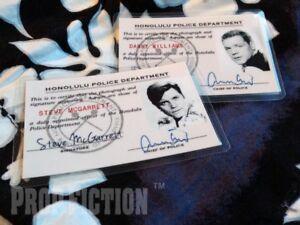 Hawaii-Five-O-Steve-McGarrett-amp-Danny-Williams-Police-Prop-ID-Cards