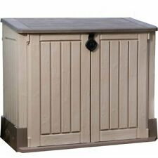 Us Leisure 10ft X 8ft Keter Stronghold Resin Storage Shed For Sale Online Ebay