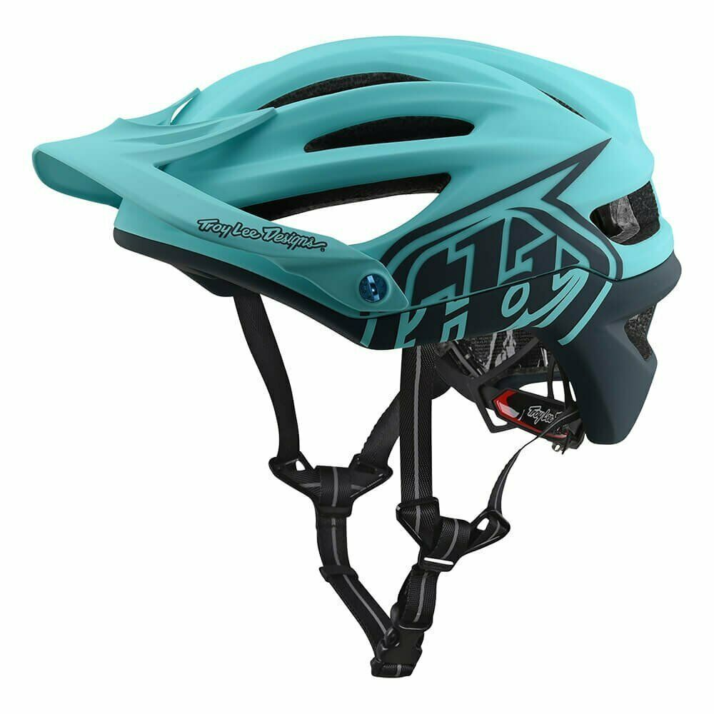 Troy Lee Designs Decoy Vuxen A2 BMX Helmet - Aqua   Medium  Large