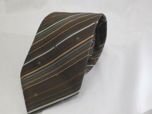Auth Louis Vuitton Men's Scarf Neck Tie Silk Blue