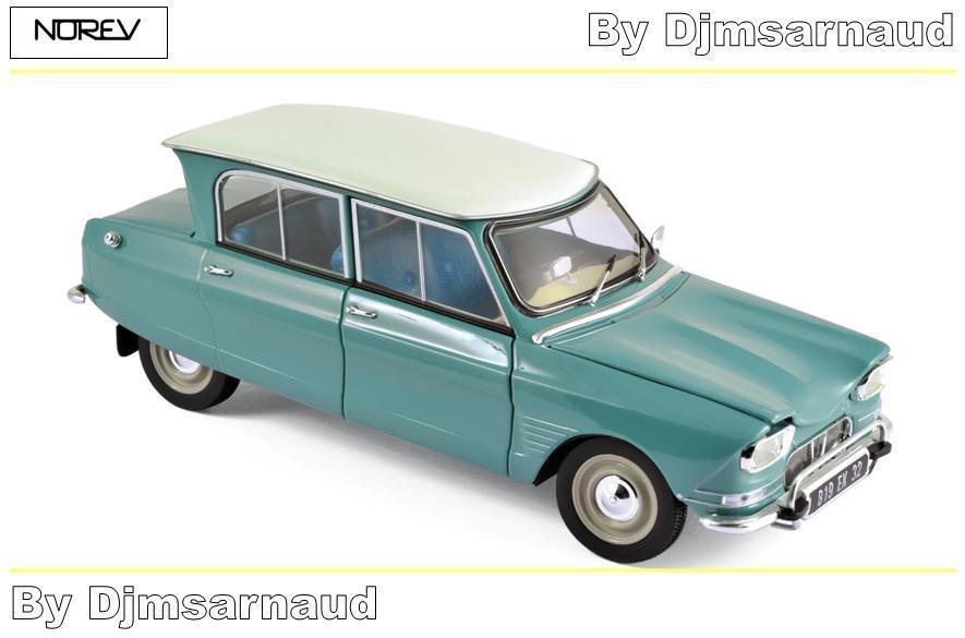 Citroën Ami 6 de 1964 Jade vert NOREV NOREV NOREV - NO 181536 - Echelle 1 18 64971b