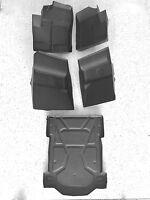 2014-2017 Polaris Rzr Xp 4 1000 Floor Mats Liners Front Rear & Bedliner 5pc Kit