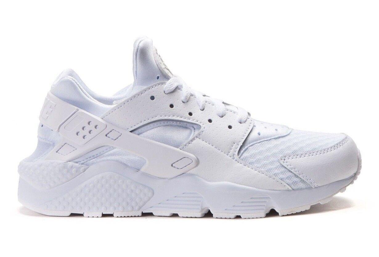 Nike Men's AIR HUARACHE Running Shoes White/Pure Platinum 318429-111 b
