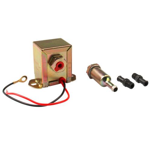 12V Low Pressure Universal Electric Fuel Pump Metal for Petrol/&Diesel 2.5-4PSI
