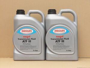 4-99-l-Meguin-Megol-Transmission-Fluid-ATF-III-rot-2-x-5-L-Automatikgetriebeoel