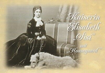 ***ORIGINAL POSTCARD***KAISERIN ELISABETH-SISSI-HABSBURG-WIEN-GÖDÖLLÖ-Adel-Royal