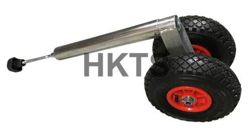 Boat Trailer Trailer Twin Pneumatic Jockey Wheel 48mm Caravan 200kg NWL,