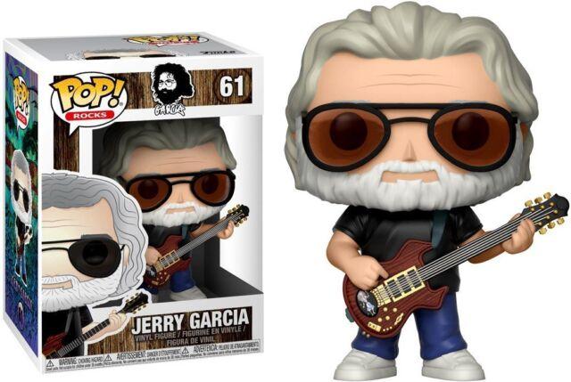 Jerry Garcia Nr Funko Pop 61 Vinyl Sammelfigur ca.10 cm groß Rocks Garcia
