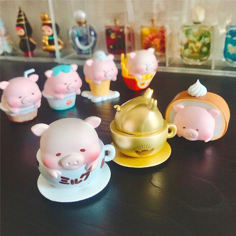 Cute Greedy Pig Coco Rare Designer Mini Figure Art Design Toy Figurine Gift