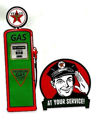 "2 X BP /""AIR /& HORN/"" Stickers Decal VINYL Garage Promo Service Station OIL PETROL"