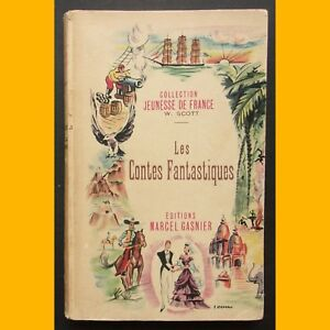 Collection-Jeunesse-de-France-LES-CONTES-FANTASTIQUES-Walter-Scott-Gasba-1945