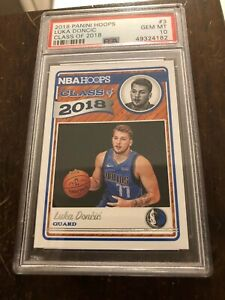 2018-Panini-Hoops-Luka-Doncic-Class-of-2018-3-PSA-10-GEM-MT-Rookie-Card