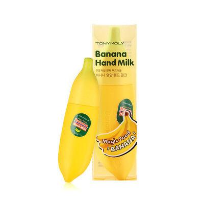 [TONYMOLY] Magic Food Banana Hand Milk 45ml / Hydrating effect