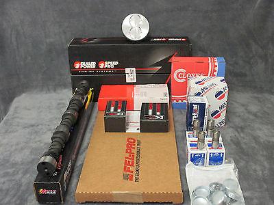 Chevy GM 305 Engine Rering Kit 5.0L 1976 77 78 79 80 bearings Fel Pro gaskets+