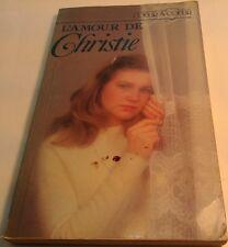 Book in French L' AMOUR DE CHRISTIE  Livre en Francais COEUR A COEUR
