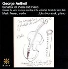 Georges Antheil: Sonatas for Violin and Piano (CD, Feb-2011, Azica Records)