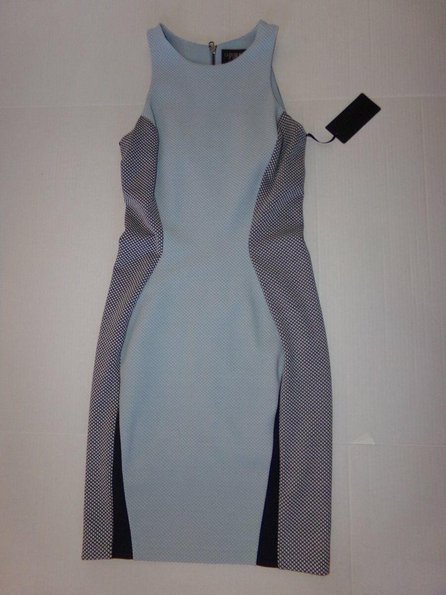 NWT Womens LA PINA By By By DAVID HELWANI Bodycon DRESS Figure Flattering Sz M  395 aad027