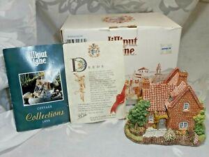 Lilliput-Lane-1991-zona-de-Witham-adelfas-ingles-Coll-Cottage-Casa-Escultura-en-Caja