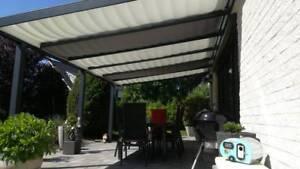 Terrassenbeschattung Seilspannmarkise Sonnenschutz Sonnensegel