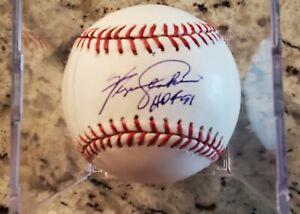 Fergie Jenkins Signed Baseball Chicago Cubs HOF Autograph