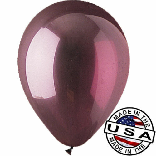 "12 - 96 pc 12"" Crystal Burgundy Latex Balloons Party Decoration Birthday Wedding"