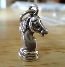 3D Knight Chess Piece Metal Pin Badge champion player strategy game AJTP214 NEW