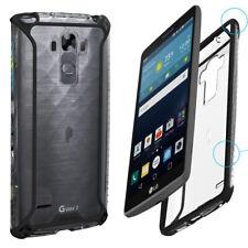 Poetic Premium Thin Protective Bumper Case for LG G Vista 2 Black/clear