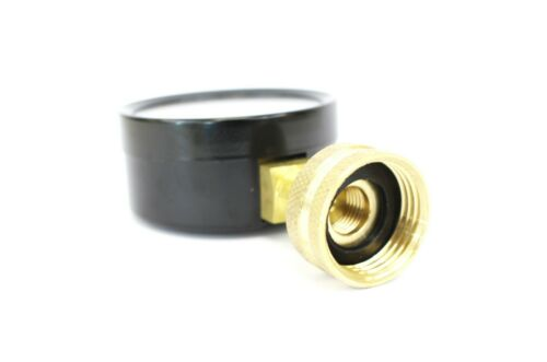 "160 PSI Water Pressure Gauge 3//4/"" FNPT Connection for Hose Bib 2.5/"" 63mm Dial"