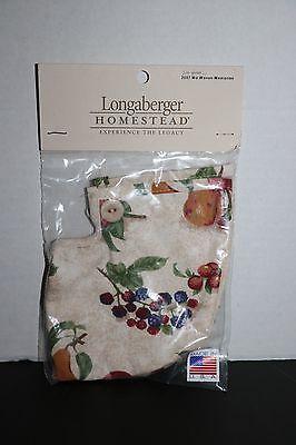 Longaberger-/'07 Md Woven Mem//Century Cel Botanical Fie