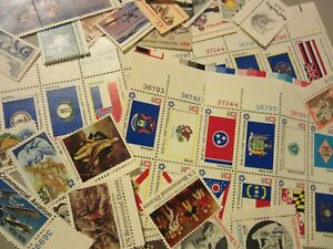 Antique-MINT-US-Postage-Stamp-Lot-all-different-MNH-13-CENT-COMMEMORATIVE-UNUSED