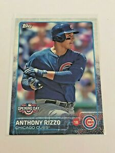 2015-Topps-Opening-Day-Baseball-Base-Card-Anthony-Rizzo-Chicago-Cubs