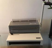 Gbc Combbind C250 Manual Binding Machine Working Plus Over 600 Plastic Binders
