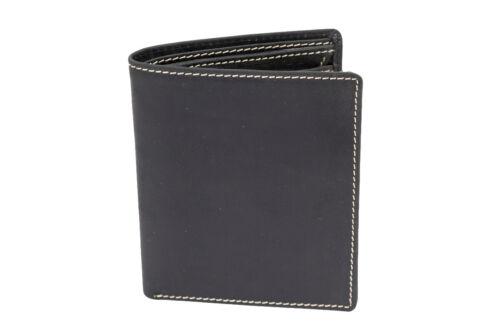 LEAS Messieurs Porte-Monnaie XXL pour jusqu/'à 18 cartes avec dehnfalte et boite cadeau